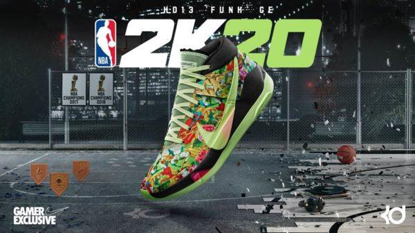NBA 2K20 x KD13 'Funk' G