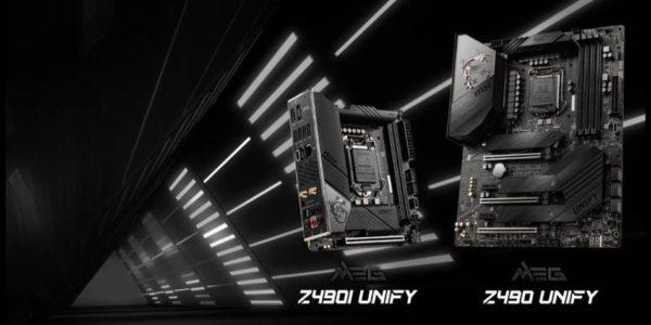 MSI Z490 UNIFY Z490I UNIFY