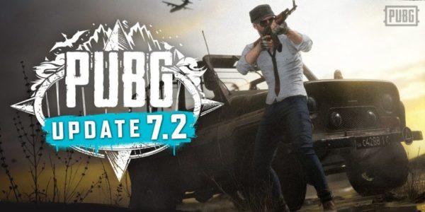 PUBG mise à jour 7.2