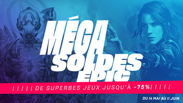 Méga Soldes Epic Games Store