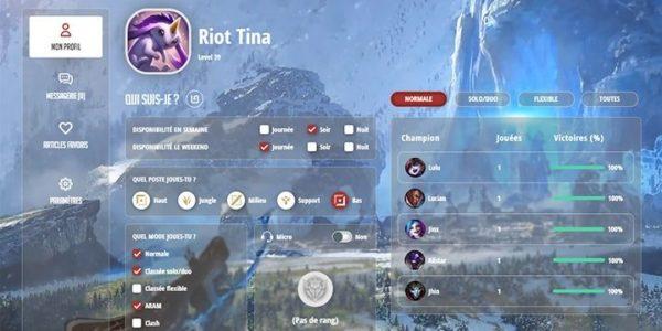 League of Legends - Riot Games France lance une plateforme pour connecter les joueurs