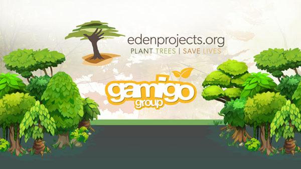 Gamigo x Eden Reforestation Projects