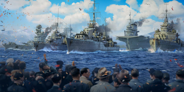 World of Warships - Première parade navale virtuelle