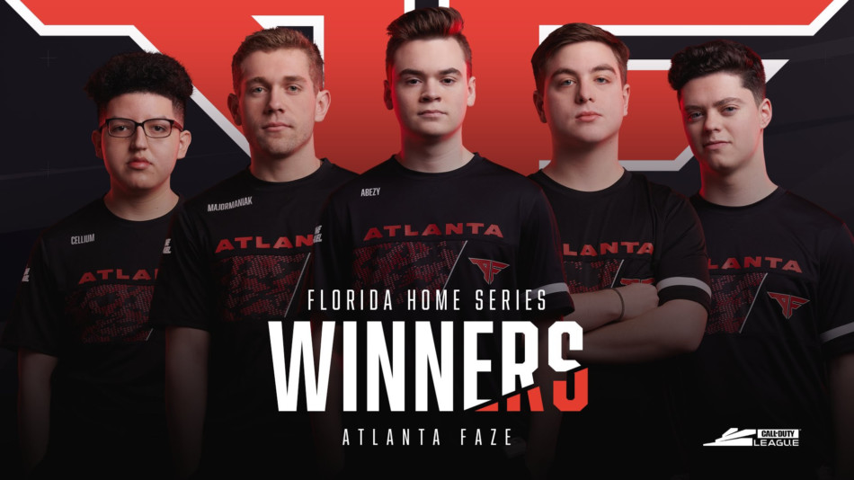 Florida Home Series - Atlanta Faze x Call of Duty League