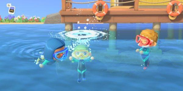 Animal Crossing: New Horizons - Mise à jour été Juillet