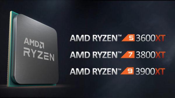 AMD Ryzen 3000XT AMDRyzen9 3900XT,AMDRyzen7 3800XT, AMDRyzen5 3600XT