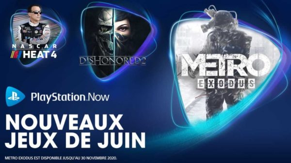 PlayStation Now PS Now - Juin 2020