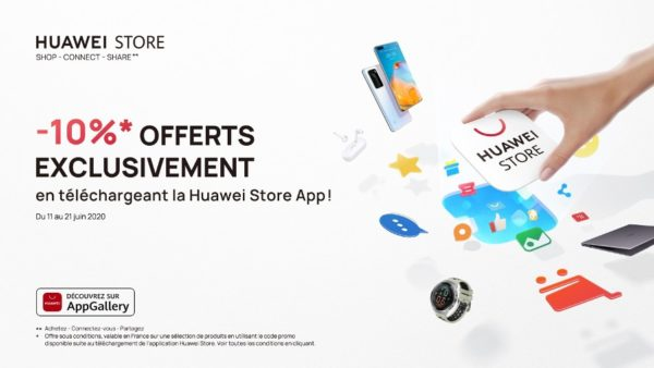Huawei Consumer BG France annonce l'application Huawei Store
