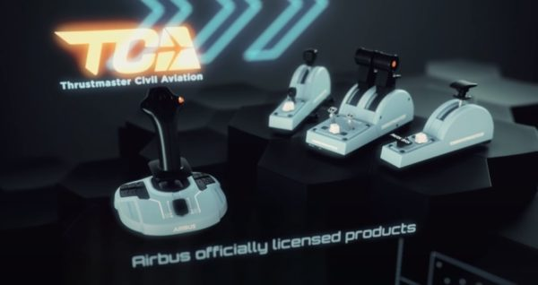 Thrustmaster X AIRBUS - TCA Officer Pack Airbus Edition