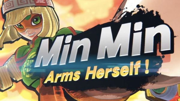 Super Smash Bros. Ultimate – Min Min ARMS herself