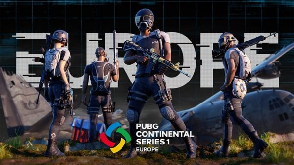 PCS1 Europe PLAYERUNKNOWN'S BATTLEGROUNDS Continental Series 1 Europe