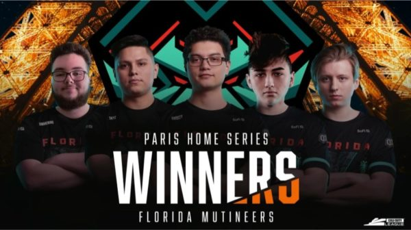 Call Of Duty League - Florida MutineerParis Legion Home Series