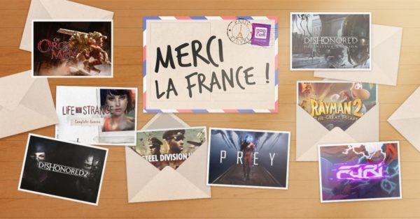 GOG.com - Les soldes françaises Merci la france débutent