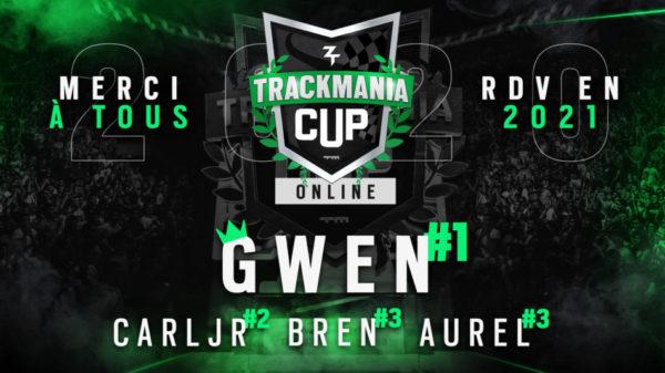Zerator Trackmania Cup 2020 GameWard Gwen