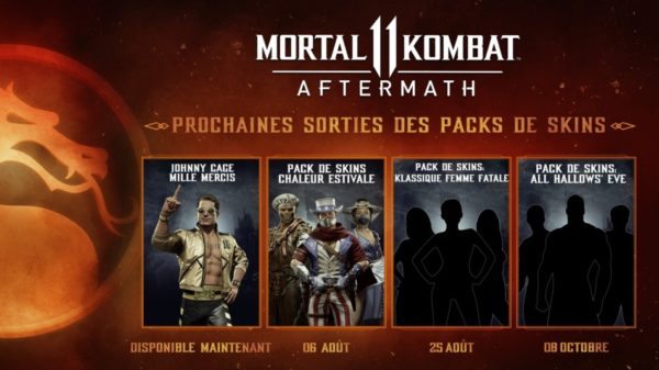 Mortal Kombat 11: Aftermath - Pack été