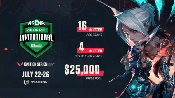 PAX Arena VALORANT Invitational Powered By Seagate