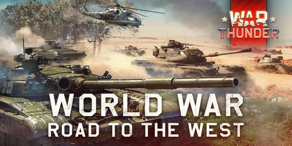 """War Thunder – Gaijin Entertainment annonce le début de """"En Route vers l'Ouest"""""""