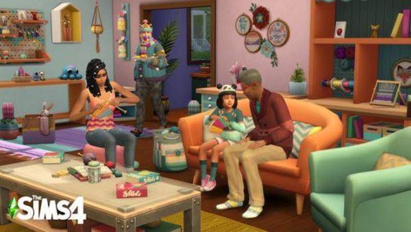 Les Sims 4 Tricot de pro