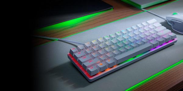 Razer, la marque lifestyle leader pour les joueurs, a annoncé aujourd'hui le clavier de jeu avec activation optique Razer Huntsman Mini 60%.