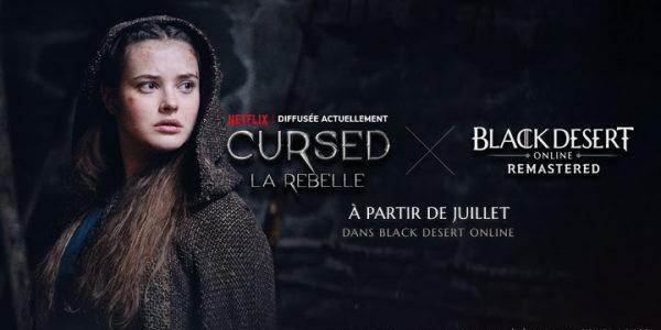 Black Desert x Netflix Cursed
