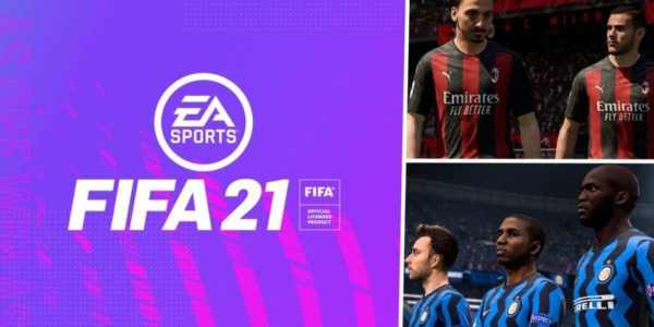 EA SPORTS FIFA 21 - MILAN AC INTER MILAN