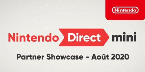 Nintendo Direct Mini: Partner Showcase - Août 2020