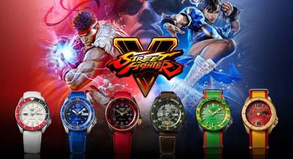 Seiko 5 Sports x Street Fighter V