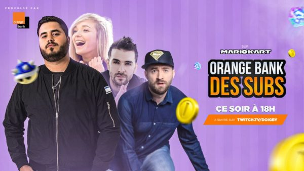 Orange Bank des Subs