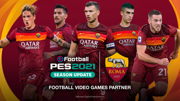 eFootball PES 2021 SEASON UPDATE AS ROMA