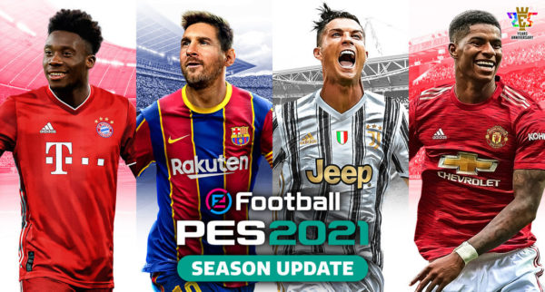 eFootball PES 2021 SEASON UPDATE eFootball PES 2021 Mobile