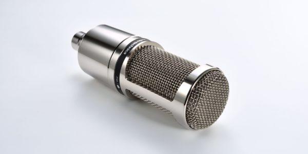Audio-Technica microphones AT2020