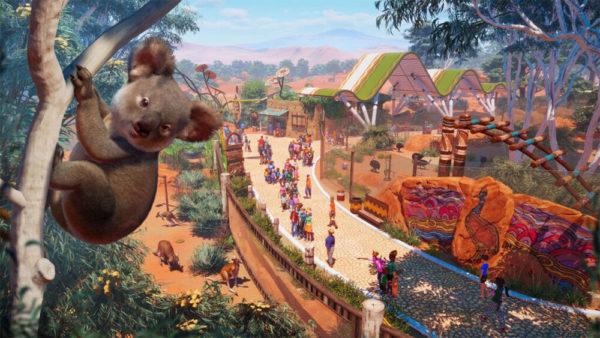 Planet Zoo - Le DLC Australie australia dlc