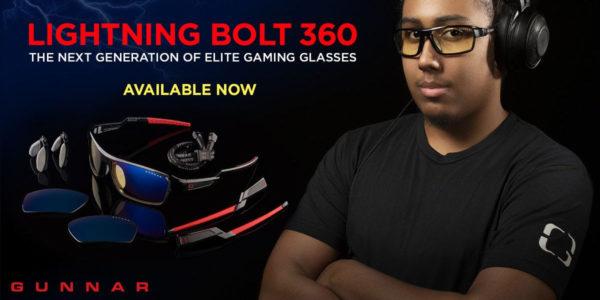Gunnar Optiks Lightning Bolt 360