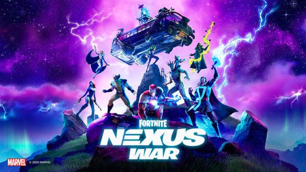 Fortnite Chapitre 2 – Saison 4 : Le Nœud du Conflit x Marvel