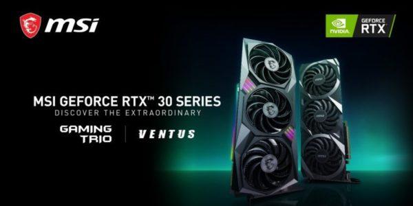 MSI NVIDIA GeForce RTX Série 30