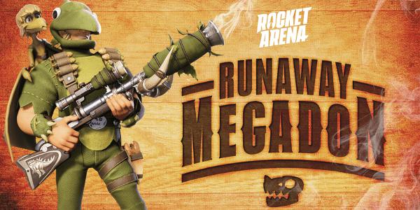 Rocket Arena Mégadon en liberté