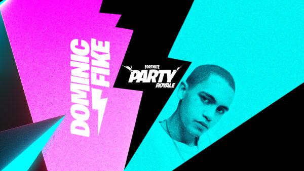 Fortnite - Dominic Fike - Pleins feux dans la Fête royale