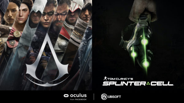 Facebook Connect Ubisoft Oculus VR