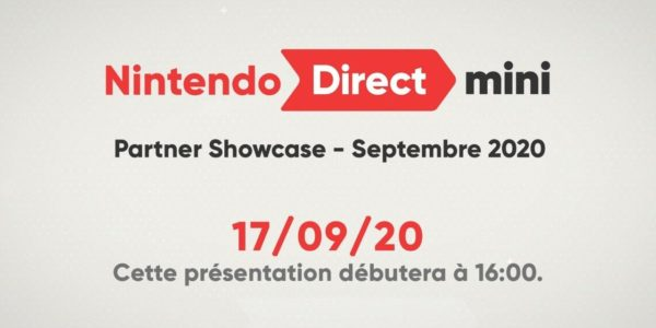 Nintendo Direct Mini: Partner Showcase - Septembre