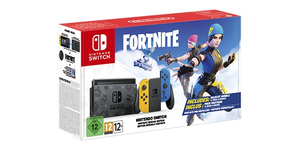 Nintendo Switch Édition spéciale Fortnite
