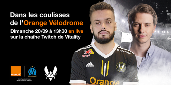 Orange Vélodrome x Team Vitality