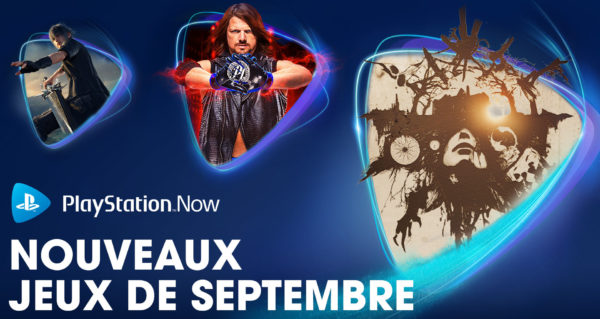 PS Now Playstation Now - Septembre 2020