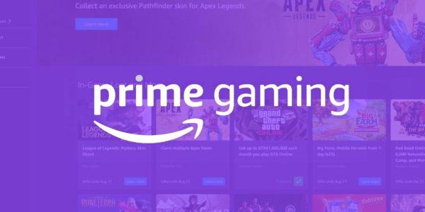 Amazon Prime Gaming – Mise à jour de Mars 2021