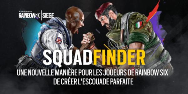 Biborg et Ubisoft lancent SquadFinder, la web-app communautaire pour Rainbow Six Siege