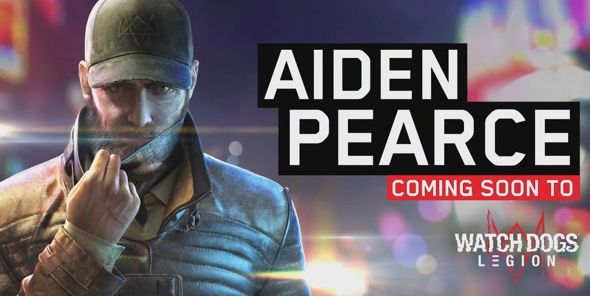 Watch Dogs : Legion Aiden Pearce