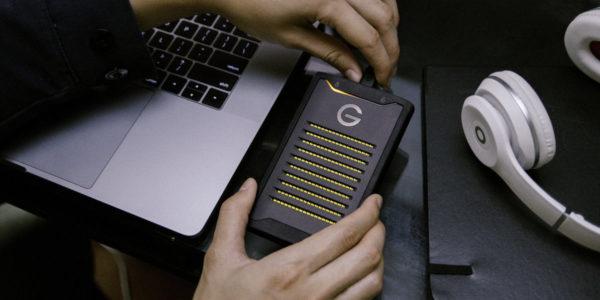Western Digital SSD G-Technology NVMe chiffré ArmorLock