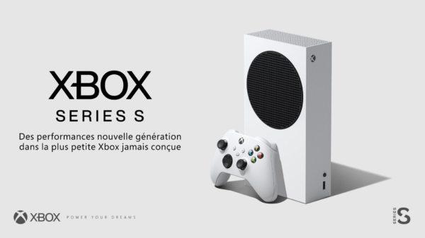 Xbox dévoile la Xbox Series S, qui sera disponible pour 299€