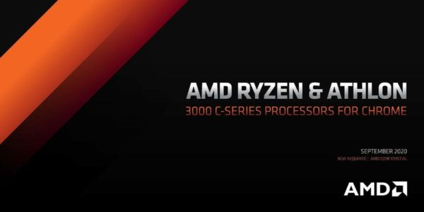 AMD Ryzen Athlon 3000 C-Series Chromebook