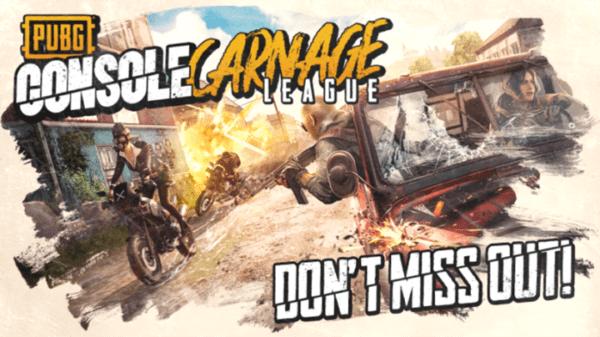 Ligue Carnage PUBG Console