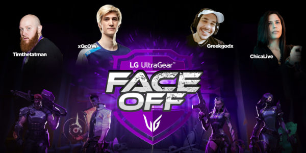 LG UltraGear FACE-OFF